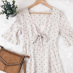 Free People 'All Yours' Polka Dot Mini Dress